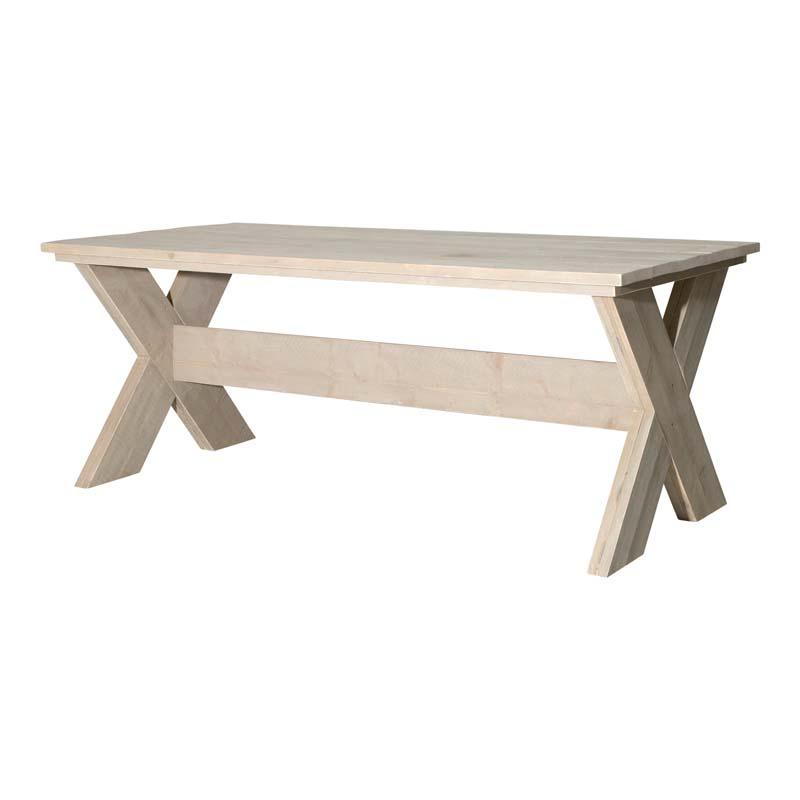 Kruispoot tafel Zand